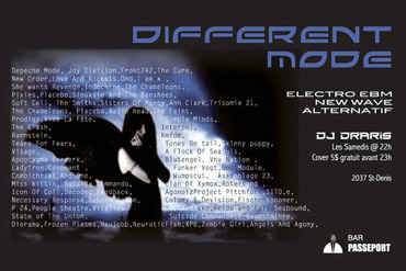 Flyer - Different Mode in Montreal - 2010/06/05